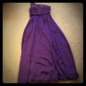 Purple Vera Wang for David's Bridal Dress